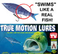 True motion lures product reviews as well as other as seen for As seen on tv fishing lures